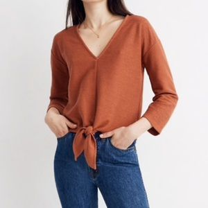 MADEWELL Texture and Thread Top XS